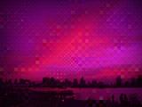 Fuchsia Red Sky
